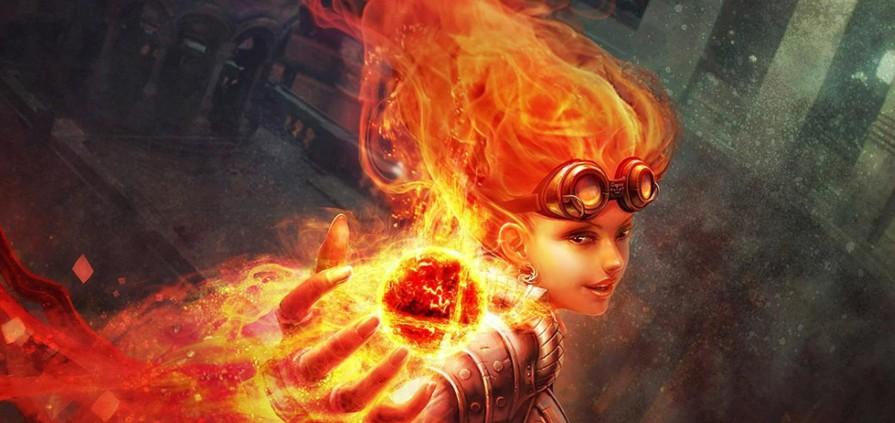 Chandra, La líder en llamas