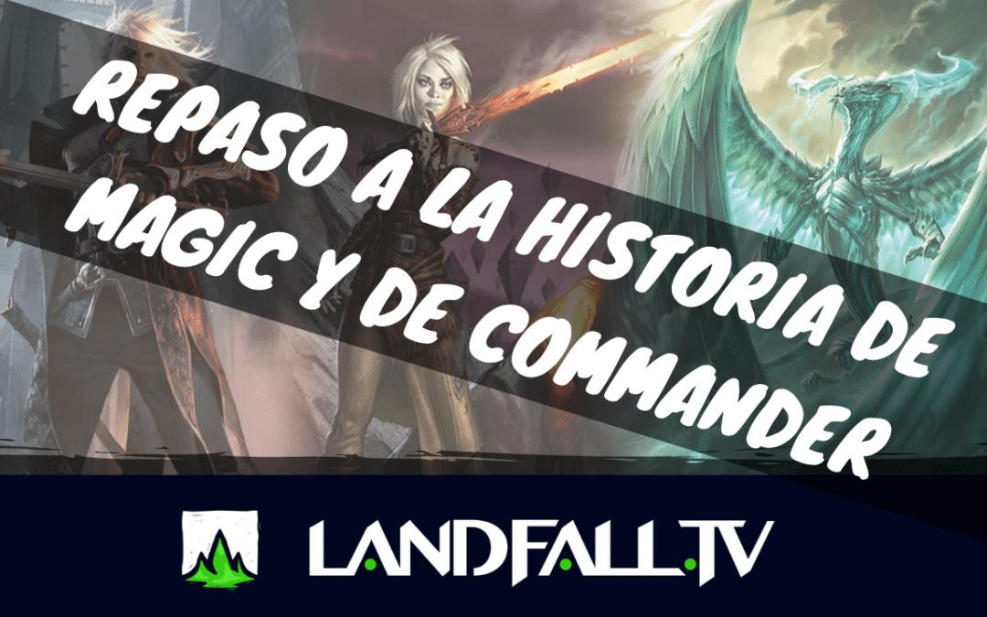 Protegido: Un repaso a la historia de Magic y de Commander | EDH  | Landfall TV#53 | Magic The Gathering