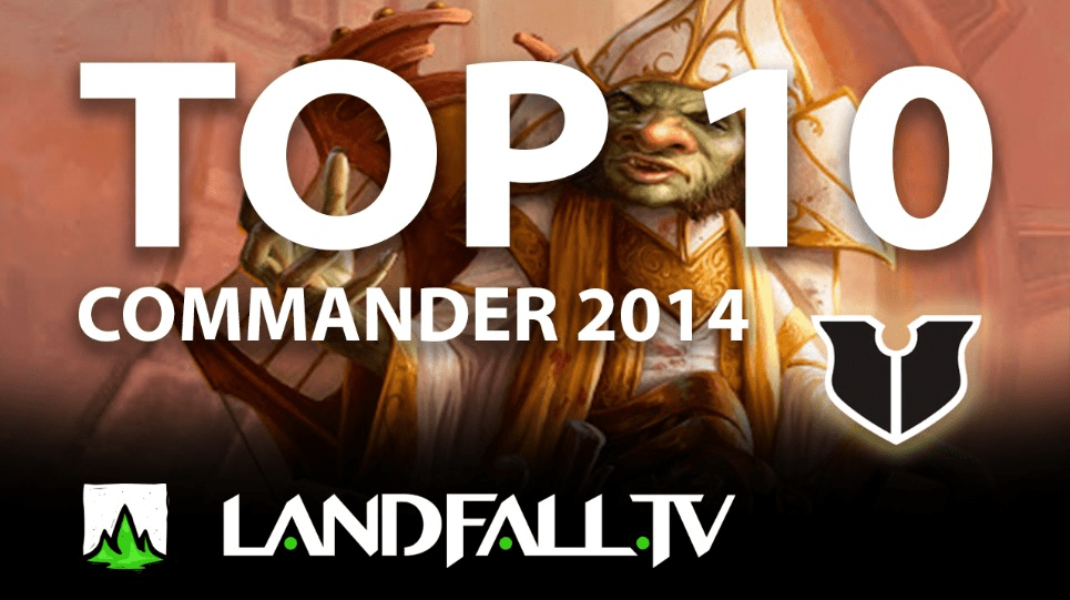Protegido: Top 10 cartas más usadas Commander 2014 | EDH | Landfall TV#84 | Commander en Español